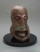 'Homer' - sculpture by Mac Coffey