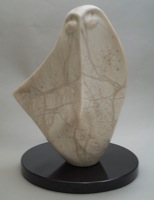 'Burka' - sculpture by Mac Coffey